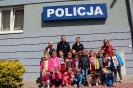 Wycieczka na policję - Słoneczka - 08.05.2014